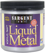Silver - Liquid Metal Acrylic Paint 8oz