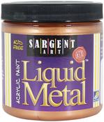Bronze - Liquid Metal Acrylic Paint 8oz