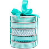 Spring Teal Premium Ribbon & Twine Pack - American Crafts