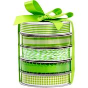 Spring Green Premium Ribbon & Twine Pack - American Crafts