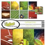 Softball Paper Collection Kit - Reminisce