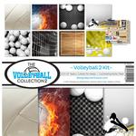 Volleyball Paper Collection Kit - Reminisce - PRE ORDER