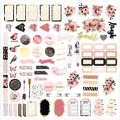 Midnight Bloom Planner Kit - Prima