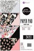 Midnight Bloom A4 Paper Pad - Prima
