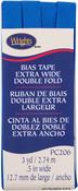 """Royal - Double Fold Bias Tape 1/2""""X3yd"""