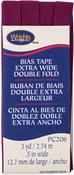 "Geranium - Double Fold Bias Tape 1/2""X3yd"