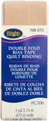 "Tan - Double Fold Quilt Binding 7/8""X3yd"