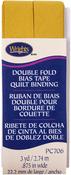 "Mustard - Double Fold Quilt Binding 7/8""X3yd"
