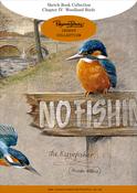Ch.4 Woodland Birds 12 Designs/3ea - Pollyanna Pickering Sketchbook A4 Insert Collection 36/Pkg
