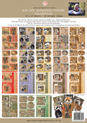 Ch.5 British Wildlife Assorted - Pollyanna Pickering Sketchbook A4 Die-Cut Decoupage Sheets