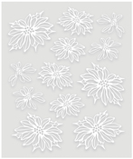 Beginning To Look A Lot Like Christmas - Ultimate Crafts Embossed Vellum Decoupage A4 1/Pkg