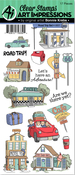 Road Trip - Art Impressions Clear Stamp Set