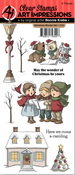 Christmas Wonder - Art Impressions Clear Stamp Set