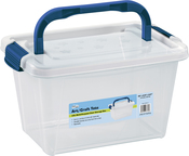 3.5L Translucent - Pro Art Storage Box W/Organizer Top