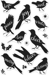 "Bird Words - Hero Arts Clear Stamps 4""X6"""
