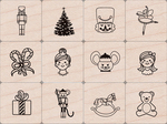 Nutcracker - Hero Arts Mounted Stamps Mini Tub