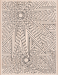 "Star Patterns Background - Hero Arts Mounted Rubber Stamp 5.75""X4.5"""