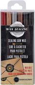 Assorted Colors - Sealing Gun Wax Sticks 6/Pkg
