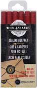 Red - Sealing Gun Wax Sticks 6/Pkg