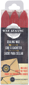 Red - Sealing Wax 3/Pkg