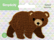 Bear - Wrights Baby Sew-On Applique