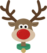 "Brad The Reindeer .44"" To 2.82"" - Cheery Lynn Designs Die"