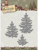 Pine Trees - Find It Yvonne Creations Celebrating Christmas Die