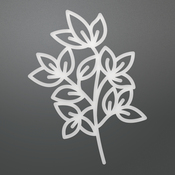 """Classic Branch - Ultimate Crafts Bohemian Bouquet Die 2.1""""X3.5"""""""