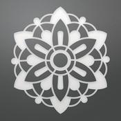 "Geo Flower - Ultimate Crafts Bohemian Bouquet Die 2.1""X2.3"""