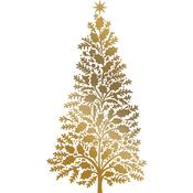 Christmas Tree Couture Creations Hotfoil Plate - Anna Griffin - PRE ORDER