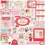 Lovestruck Details Sticker Sheet - Authentique - PRE ORDER