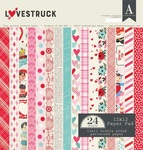 Lovestruck 12 x 12 Paper Pad - Authentique