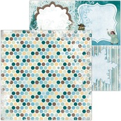 Icicles Play Paper - Winter Playground - Bo Bunny