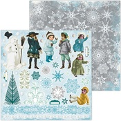 Noteworthy Play Paper - Winter Playground - Bo Bunny - PRE ORDER