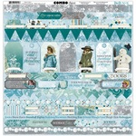 Winter Playground Combo Stickers - Bo Bunny - PRE ORDER