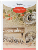 Ch.5 British Wildlife Hedgehog - Pollyanna Pickering Sketchbook A4 Die-Cut Decoupage Card Kit