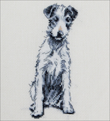 "Barney - Cecil Aldin Counted Cross Stitch Kit 2.5""X5.75"""