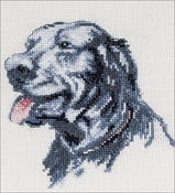 "Pilot - Cecil Aldin Counted Cross Stitch Kit 4.75""X5"""