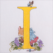 "I - Seraphina Counted Cross Stitch Kit 6""X4.25"""