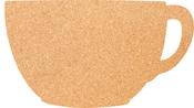 """Cup - Silhouette Cork Board 11.81""""X17.71"""""""