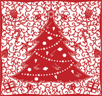 Tree - First Edition Christmas Craft A Card Die