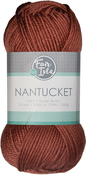 Rhubarb - Fair Isle Nantucket Yarn