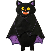 "Just Batty! - Bucilla Felt Wall Hanging Applique Kit 11""X14.5"""