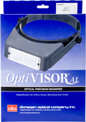 "Lensplate #5 Magnifies 2.5x At 8"" - Donegan OptiVISOR LX Binocular Magnifier"