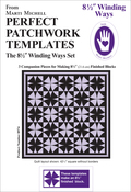 """Winding Ways 8.5"""" 3/Pkg - Perfect Patchwork Template"""
