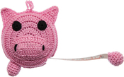 Pig - Paradise Crocheted Tape Measure 60""
