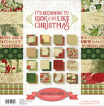 "Beginning To Look A Lot Like Christmas - Ultimate Crafts Double-Sided Paper Pad 12""X12"" 32/Pkg"