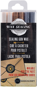 Pearl Gold Silver - Sealing Gun Wax Sticks 6/Pkg