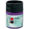 Amethyst - Marabu Glas 50ml A luminous interplay of colors on glass. Vivid, transparent colors. Good flow for even application. Dishwasher-safe without firing. Simply paint and leave to dry for 3 days. Water-based, odorless and non-fading. This package contains 50ml of glass paint. Conforms to ASTM D 4236. Comes in a variety of colors. Each sold separately. Imported.