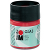Cherry - Marabu Glas 50ml A luminous interplay of colors on glass. Vivid, transparent colors. Good flow for even application. Dishwasher-safe without firing. Simply paint and leave to dry for 3 days. Water-based, odorless and non-fading. This package contains 50ml of glass paint. Conforms to ASTM D 4236. Comes in a variety of colors. Each sold separately. Imported.